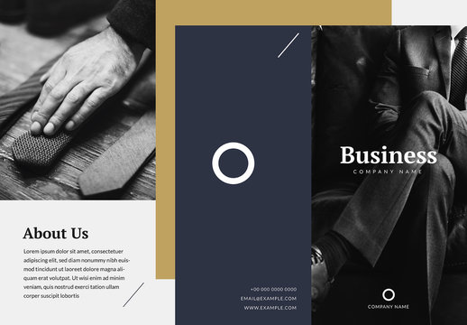 Professional Business Brochure Layout