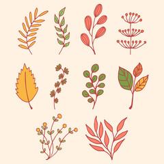 spring floral illustration vector