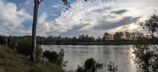 River Cloudscape