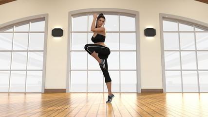 Aerobics Dance Class