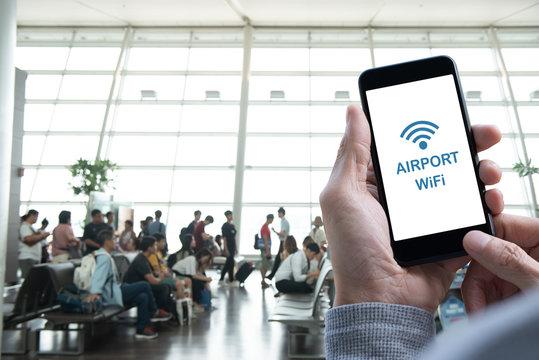 Airport WiFi Zone