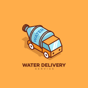 Water delivery logo