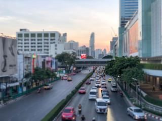 バンコク 道路