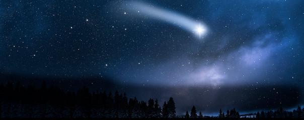 Shooting star in Sky