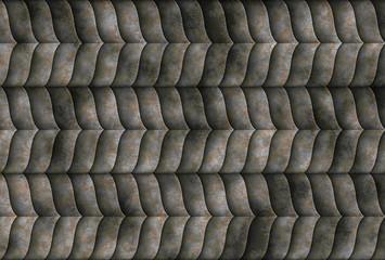 sci fi metal scale grid wallpaper backround