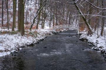 wintertime in the vallye Seifersdorfer Tal - Winter im Seifersdorfer Tal