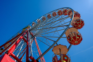 Ferris wheel in the Zurich