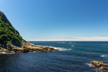 View of the Indian Ocean in South Africa