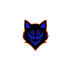 wolf logo illustrator