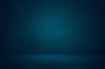 dark blue studio room background