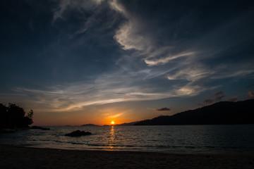 background sea in Thailand
