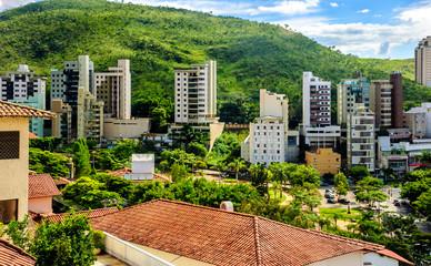Brazil journey. The beauty of urban jungle. Belo Horizonte .Brazil .