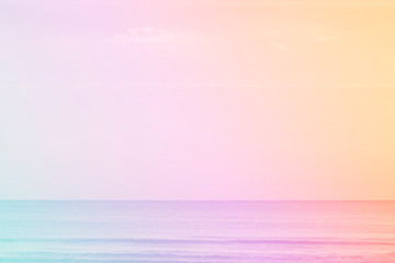 pastel color of sea summer background.