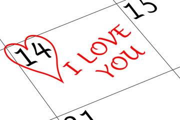 Valentin`s Tag Herz Ich liebe Dich