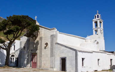 Church in the Greek Islands