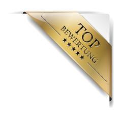 Banderole Top Bewertung