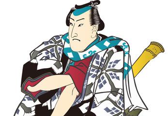 江戸五人男達之内 神田与吉 バストアップ