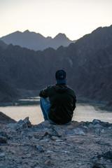 Dubai United arabic emirates, Landscape Hatta dam