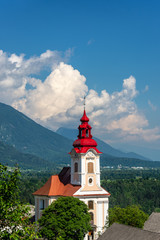 St. Janez Church in Slovenia