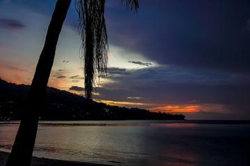 Epic sunset in Phuket, Thailand