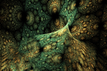Geometric fractal shape can illustrate daydreaming imagination psychedelic space dreams magic explosion frequency patterns radiation concepts.
