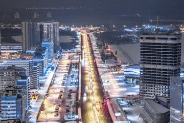 Minsk at night