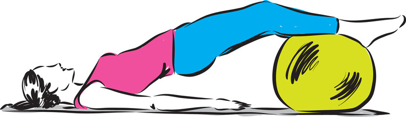 fitness illustration 4