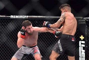 MMA: UFC Fight Night-Fortaleza- Bibulatov vs Bonvtorin