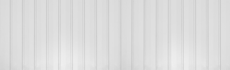 Panorama of White metal plate pattern and background