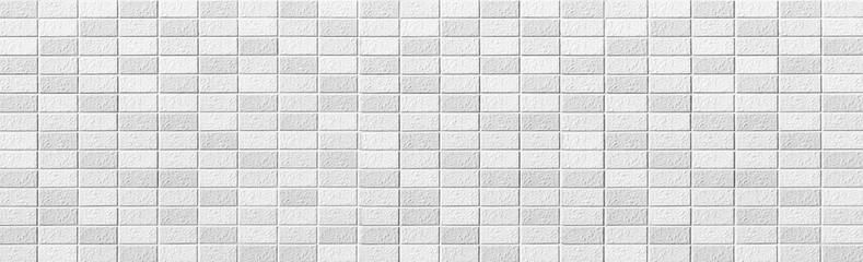 Panorama of White modern wall background