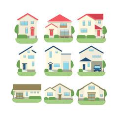一戸建て住宅 セット