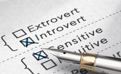 Personality Test, Extrovert or Introvert Person