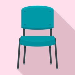 Office chair icon. Flat illustration of office chair vector icon for web design