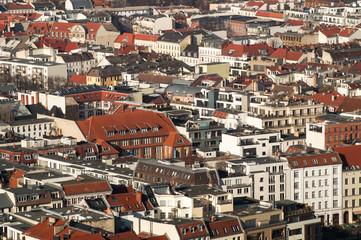 city pattern of buildings