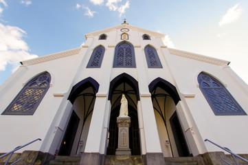 世界遺産である大浦天主堂