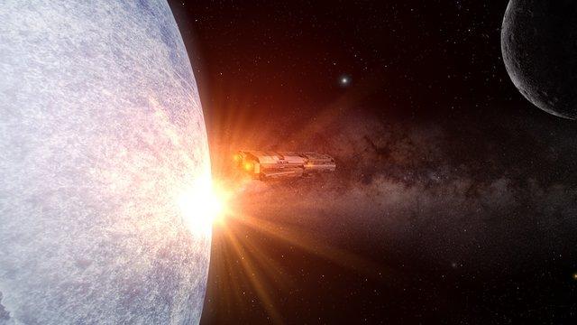 viaje a planetas desconocidos