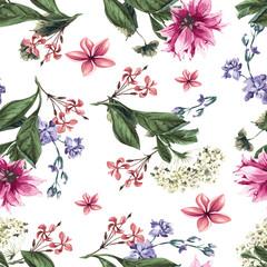 beautiful colorful flower pattern