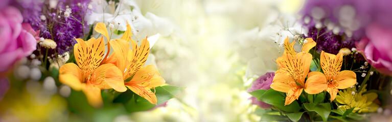 Beautiful flowers, bouquet of flowers