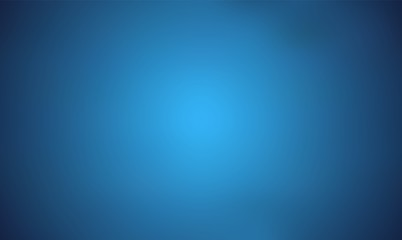 Light Blue Trendy Wide Screen Gradient Background. Defocused Soft Blurred Backdrop