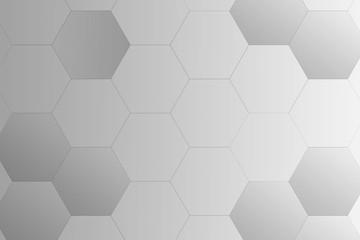 grey hexagon gradient background