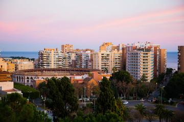 Malaga view from Alcazaba