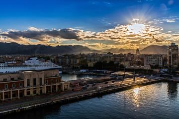 Altstadt von Palermo mit ihren engen Gassen