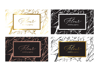 The organic marble pattern for stylish business card templates. A chic design for interior designers, stylists, boutiques, salons, Etsy and Poshmark sellers, writers and more.