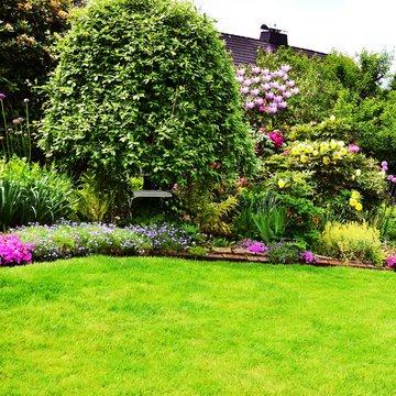 beautiful garden square