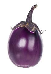 Raw purple aubergine