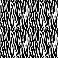 Zebra Print Seamless Pattern - Wild animal print pattern design