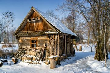 Zima na Podlasiu - Dolina Górnej Narwi