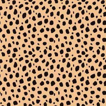 Cheetah Print Seamless Pattern - Wild animal print pattern design