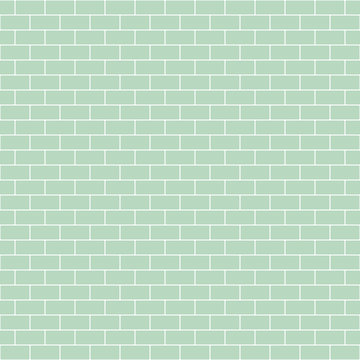 Subway Tile Seamless Pattern - Classic subway tile pattern design