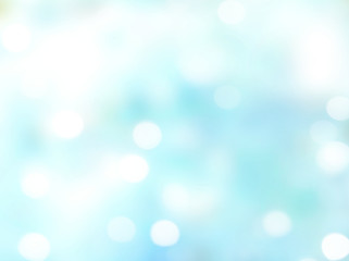 Light abstract blue blurred background.